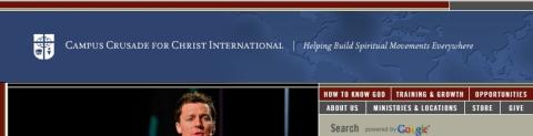CCCi main web site banner