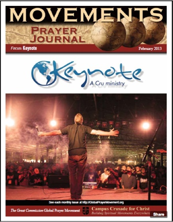 Keynote Prayer Journal